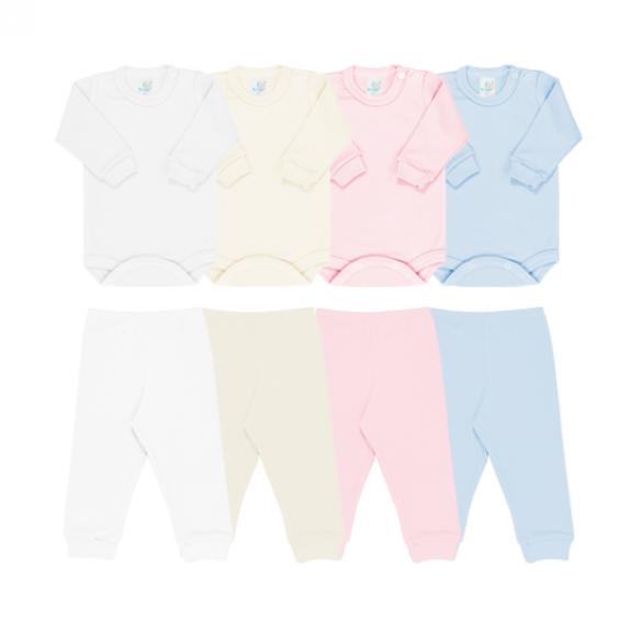 Canelado Ref: 11-3, 11-4 Tam: RN ao GG, 1 ao 3 Cores: branco , bege, azul, rosa